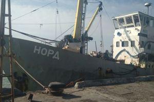 Ukraine tịch thu tàu Nga bị bắt giữ có tên Nord