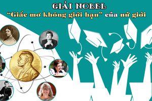 Giải Nobel - 'Giấc mơ không giới hạn' của nữ giới