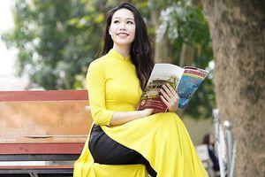 Hoa khôi Ngoại thương: 'Phụ nữ hiện đại thích độc lập bởi đứng trên đôi chân mình mới là vững vàng nhất'