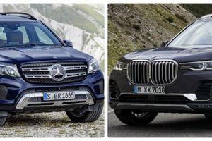 BMW X7 và Mercdes GLS: Công nghệ có chiến thắng sang trọng thuần khiết?