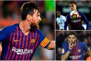 Đội hình 'siêu tấn công' giúp Barca đả bại Sevilla?