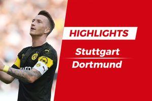 Highlights chiến thắng 4-0 của Dortmund trước Stuttgart