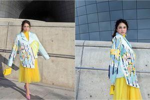 Mỹ nhân Việt lăng xê quần tụt nổi bật tại Tuần lễ thời trang Seoul