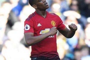 Lập cú đúp, Martial 'vô đối' về thành tích ghi bàn ở M.U