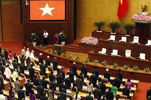 Quốc hội mặc niệm cố Tổng Bí thư Đỗ Mười, cố Chủ tịch nước Trần Đại Quang
