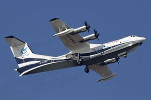Trung Quốc ra mắt thủy phi cơ lớn nhất hành tinh, vượt cả Nga-Mỹ