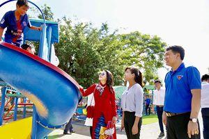 Khánh thành khu vui chơi miễn phí cho con em công nhân