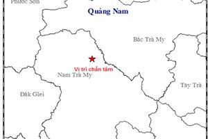 Quảng Nam: Liên tục xảy ra động đất ở 2 huyện miền núi