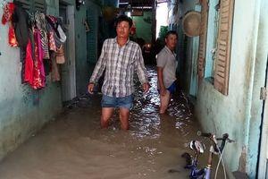 Phú Quốc: Nhiều nơi ngập đến ngực