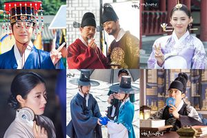 'Chết cười' với loạt hình ảnh chống nóng mùa hè siêu dễ thương của D.O. và dàn diễn viên '100 Days My Prince'
