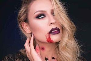 Cách trang điểm Halloween ma quái nhưng cực quyến rũ cho bạn gái
