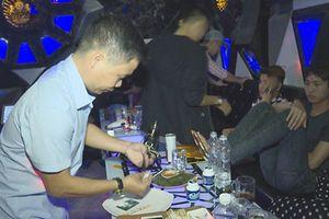 Đắk Lắk: Bắt quả tang 21 đối tượng sử dụng ma túy trong quán karaoke