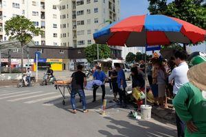 Xe cẩu gây tai nạn chết người giữa phố Hà Nội rồi bỏ trốn