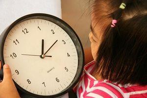 Dạy trẻ ý thức giờ giấc và biết quí trọng thời gian