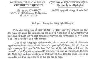 Quy định hoạt động của cơ sở văn hóa nước ngoài tại Việt Nam