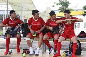 HLV Park Hang-seo mong đối thủ đá thật