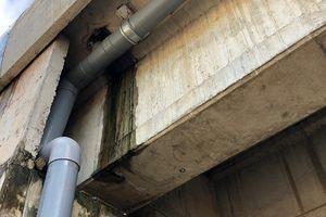 Kiểm tra hầm chui cao tốc Đà Nẵng-Quảng Ngãi bị thấm dột