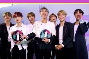 BTS chiến thắng hai giải thưởng lớn tại BBC Radio 1's Teen Awards