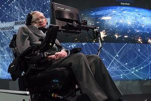 Luận văn và xe lăn của Stephen Hawking sắp được đấu giá