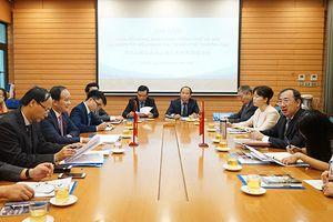 Hà Nội - Thượng Hải trao đổi kinh nghiệm hoạt động của HĐND