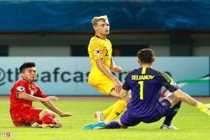 U19 Việt Nam dừng bước tại VCK U19 châu Á sau trận thua Austrlia