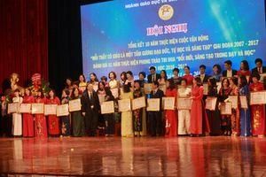 Hà Nội tổ chức cuộc thi viết về 'Tấm gương Nhà giáo Thủ đô tiêu biểu'