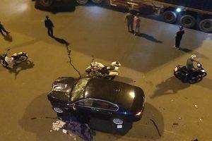 Hiện trường vụ nữ tài xế BMW tông liên hoàn, người và xe nằm la liệt