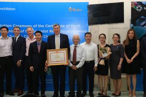 Saigonchildren được vinh danh vì những đóng góp cho giáo dục Việt Nam