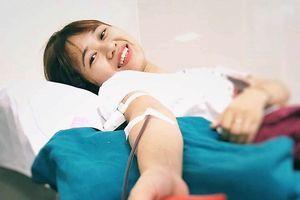 Xuyên đêm hiến máu hiếm