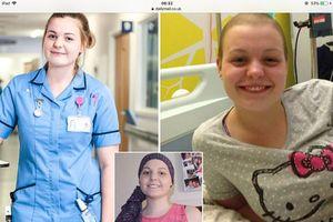 Cô gái ung thư trở thành điều dưỡng phục vụ bệnh nhân ung thư