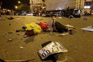 Vụ 'nữ tài xế phóng BMW tông hàng loạt xe máy': Một nạn nhân vẫn hôn mê