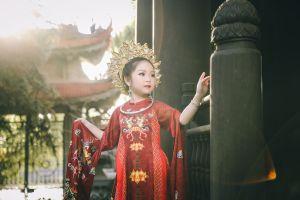 Hé lộ trang phục dân tộc của đại diện Việt Nam tại 'Little Miss Eurasia 2018'