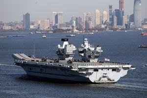 Tư lệnh hải quân Anh nói sẽ điều thêm tàu chiến đến Biển Đông