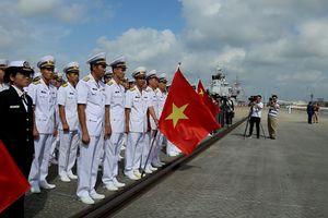 Diễn tập thực binh hải quân ASEAN - Trung Quốc 2018 trên vùng biển phía đông Trạm Giang