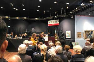 Tranh của họa sĩ Nam Sơn được bán với giá kỷ lục gần 12 tỉ đồng
