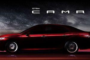 Toyota Camry thế hệ mới sẽ ra mắt tại Thái Lan vào cuối tháng 10