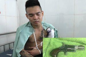 Hai thanh niên bị bắn trọng thương tại quán nhậu