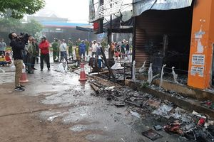 Cháy cửa hàng hoa tươi, 2 người phụ nữ chết ngạt