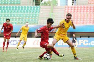 Thất bại trước U19 Australia, U19 Việt Nam hết cơ hội đi tiếp