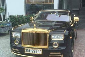 Phát sốt với Rolls-Royce Phantom rồng vàng 35 tỷ bất ngờ xuất hiện ở Hải Phòng