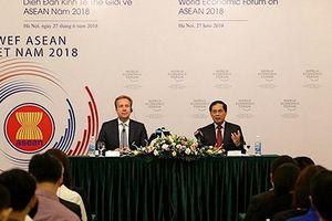 Diễn đàn kinh tế thế giới ASEAN 2018: Khẳng định vị thế Việt Nam
