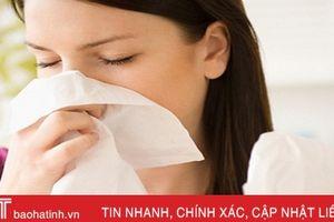 Viêm mũi dị ứng dễ gây biến chứng