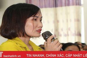 Giúp cán bộ, hội viên phụ nữ thấm sâu các chính sách BHYT, BHXH