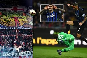 Thắng derby, Inter đẩy Milan xuống nửa dưới bảng xếp hạng