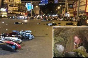 Chủ nhà hàng ẩm thực Brazil lái ô tô tông 8 người dừng đèn đỏ thương vong