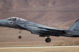 Chiến đấu cơ Israel tiến hành cuộc tấn công giả định tại Liban