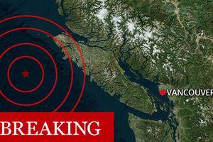 Canada rung chuyển bởi 4 trận động đất liên tiếp