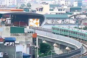 'Bác' đề xuất xây tàu điện một ray trên đại lộ Thăng Long - Hà Nội
