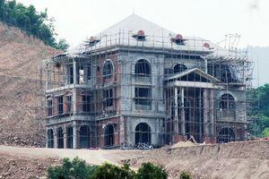 Công ty xi măng Công Thanh san đồi, xây công trình trái phép