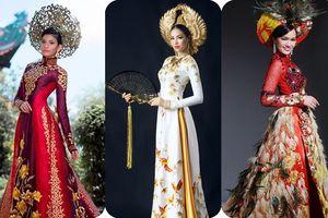 Trang phục dân tộc của Hoa hậu Việt đi thi quốc tế: Áo dài đã đủ 'truyền thống' chưa?